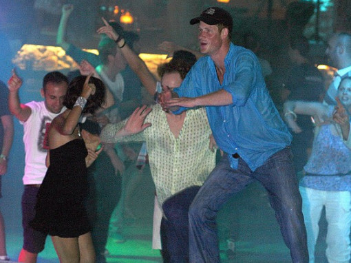 Prince Harry Partying